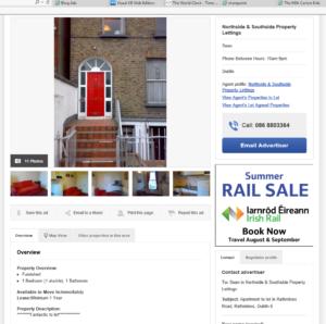 Apartment Hunting in Dublin