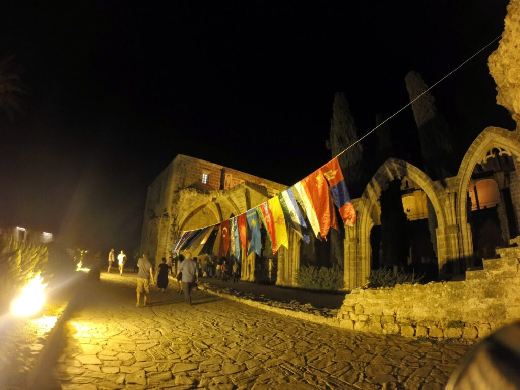 night at the abby