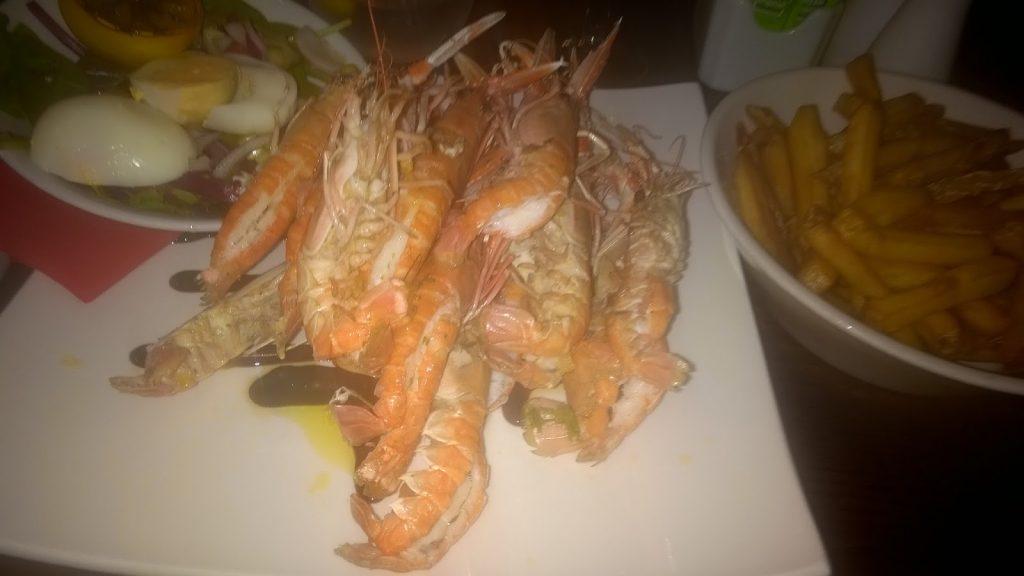 shrimp in Scotland