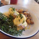 Blas Cafe Eggs Benedict