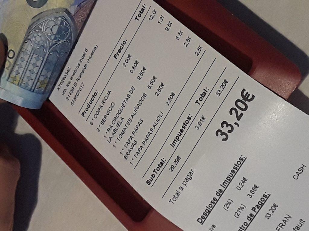 only 33 euros
