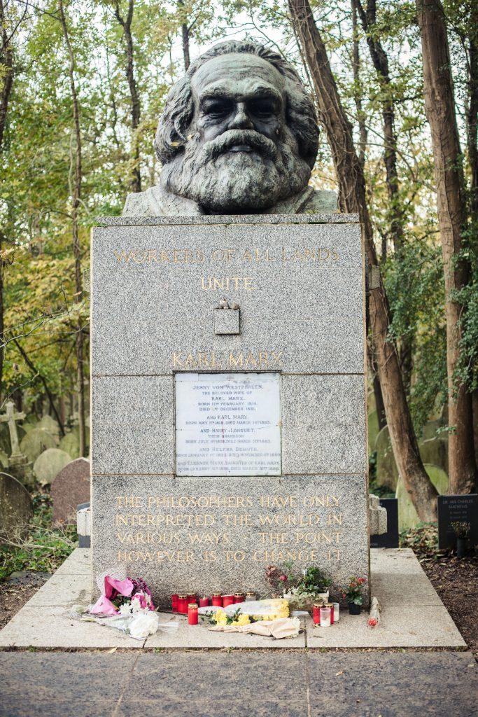 Karl Marx Tombstone